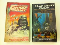 Vintage books - Empire Strikes Back/Marvel Comics & Jedi Masters Quiz Book