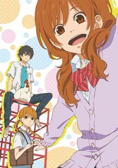 Tonari No Kaibutsu-kun ~ Haru Yoshida, Shizuku Mizutani, Akaso Natsume My Little Monster, Little Monsters, Shizuku And Haru, Shizuku Mizutani, Shoujo Ai, Gekkan Shoujo Nozaki Kun, I Love Anime, Me Me Me Anime, Air Gear