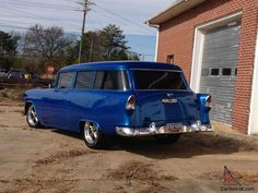 1955 Chevy Two Door 210 Bel Air/Handyman Wagon, Nomad's cousin, trades? 56, 57