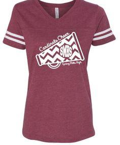Cheerleading Shirts ~ Cheer Mom ~ Cheer Squard ~ High School Cheer ~ Football…