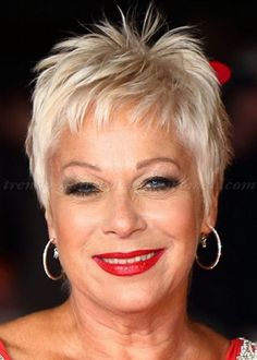 Image result for Short Hair Styles For Women Over 50 Spikey