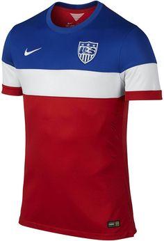 A camisa tricolor dos Estados Unidos para a Copa - http://www.colecaodecamisas.com/camisa-tricolor-estados-unidos-copa-2014/ #colecaodecamisas #Copadomundo2014, #Nike