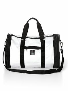 """This gym-ready sport duffle from #VictoriasSecret is a """"must-have"""" for any workout warrior!"""