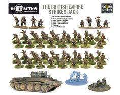 Warlord Games • The British Empire Strikes Back - British Army - Bolt Action