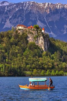 Lake Bled, Slovenia Expression Photography