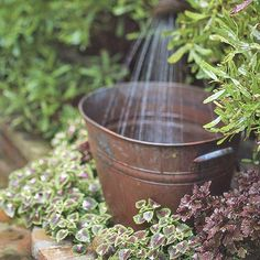 20 Outdoor Fountain Ideas    Outdoor fountains are a great addition to any landscape. Find ideas here for what style, size, and design of fountain would work best in your landscape.