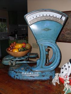 Antique Grocery Scale Detroit Automatic Scale Company | eBay