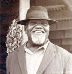 Uriah Buzz Butler - father of the Labour Movement in Trinidad.