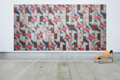 The Swedish-based company Baux has just begun to market a new line of acoustic tiles that not only cut down on noise, but also come together to form some incredible wall art. Their tiles come in a range of colors and shapes meaning the possible combinations are almost endless. And the benefits don't stop there. Not only are Baux tiles sound absorbent, they're fire resistant, temperature regulating, and energy efficient too!