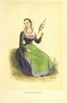 Image taken from page 117 of 'L'Espagne pittoresque, artistique et monumeatale. Mœurs, usages et costumes, par MM. M. de Cuendias et V. de F...