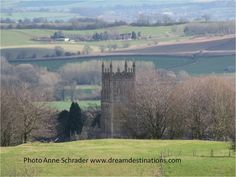 Countryside of the Cotswolds England