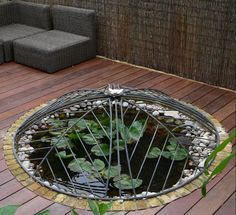 Child safety cover for small wildlife pond - Creative Pond Covers Outdoor Ponds, Ponds Backyard, Outdoor Gardens, Koi Ponds, Outdoor Fun, Small Garden Big Ideas, Pond Covers, Lush Garden, Garden Pond