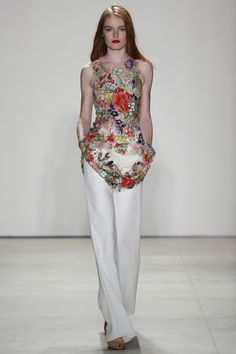 Jenny Packham - New York Fashion Week Spring 2016 - welcome in the world of fashion