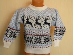 "Вязание: Норвежские орнаменты ""Олени"" Christmas Jumpers, Christmas Sweaters, Knitting, Blog, Fashion, Deer, Ornaments, Tejidos, Tricot"