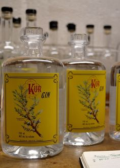 Kur Gin from Wildwood Spirits Co. in Bothell, WA. Photo courtesy of Zoey Liedholm. #Bothell #WildwoodSpiritsCo