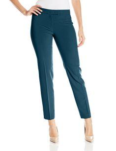 Anne Klein Women's Slim Pant at Amazon Women's Clothing store:
