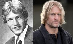 """Now: Woody Harrelson as Haymitch Abernathy. He almost passed up playing drunken District 12 victor and mentor Haymitch Abernathy until he read the books and director Gary Ross called to plead with him. Harrelson told Fandango, """"Gary called me and said, """"Dude, you've got to do this. I don't have a second choice. You've got to play Haymitch."""" And I was like, 'Well, when you put it that way… let's do this damn thing.'"""""""