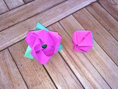 como hacer cubos de papel