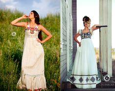 Свадебные платья с этно-мотивами от Черниковой