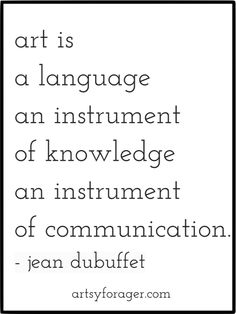 art is a language Art Qoutes, Quotations, Art Quotes Artists, Abstract Geometric Art, My Philosophy, Creativity Quotes, Artist Life, Conceptual Art, Best Quotes