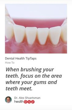 Dental healths tips | How to.