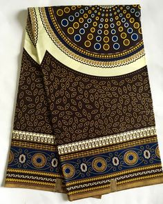 A personal favorite from my Etsy shop https://www.etsy.com/listing/532416331/african-print-fabric-ankara-brown-blue