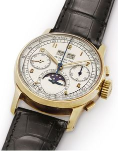 Patek Philippe Ref 1518 vintage angleview - Perpetuelle