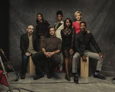 The Birth of a Nation cast photographed by Justin Bishop.
