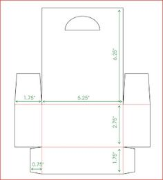 Milk Carton holder template