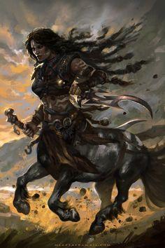 Raven, Gladiators of Dragon Isle - Manthos Lappas Fantasy Races, Fantasy Warrior, Warrior Girl, Fantasy Creatures, Mythical Creatures, Mythological Creatures, Fantasy Inspiration, Character Inspiration, Character Portraits