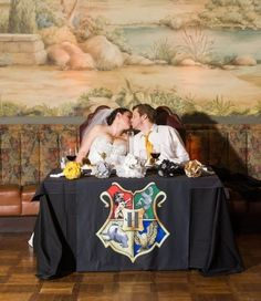 This Couple's Incredible Harry Potter-Themed Wedding Puts All Other Weddings To Shame