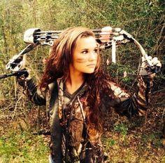 Archery senior picture