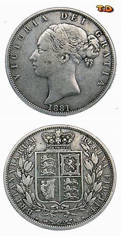 N♡T.  Queen Victoria Young Head Halfcrown 1838-1887 Coin Shop, Foreign Coins, All Currency, Gold And Silver Coins, World Coins, Wax Seals, Queen Victoria, Fountain Pens, Luxury Cars