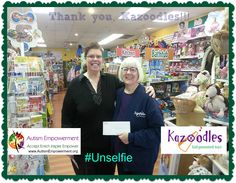 Thank you to #Kazoodles Toys for supporting #AutismEmpowerment on National Toy Store Day!