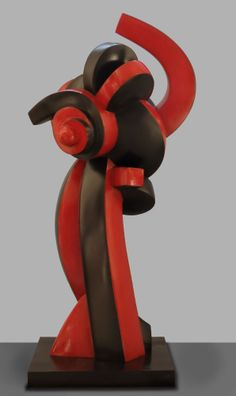 "Sophia Vari, ""Midnight Sun"", 1999. Polychrome bronze."