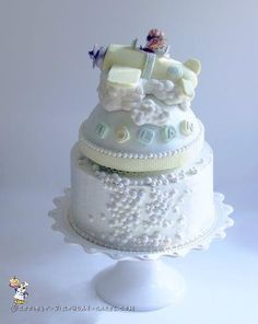 Coolest Baby Shower Airplane Cake... Coolest Birthday Cake Ideas