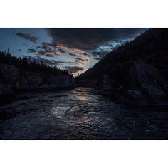 Emmanuel Lubezki Swirling eddy in the Kootenai River, MT.