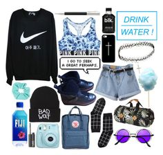 """""""hiking // theme tag //"""" by theweasleygirl ❤ liked on Polyvore featuring NIKE, Victoria's Secret, Casetify, Fjällräven, ASOS, Coach, Monki, Penfield, Topshop and NARS Cosmetics"""