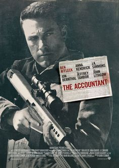 The Accountant Hi-Res Movie Poster A