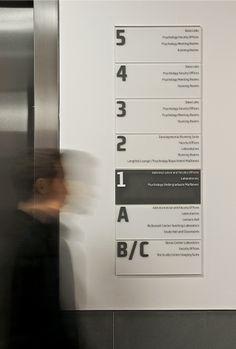 Princeton University Neuroscience Institute and Peretsman-Scully Hall Floor Signage, Office Signage, Wayfinding Signage, Signage Design, Hospital Signage, Directory Signs, Environmental Graphic Design, Environmental Graphics, Navigation Design