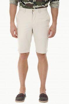 Enzyme Wash Chino Shorts