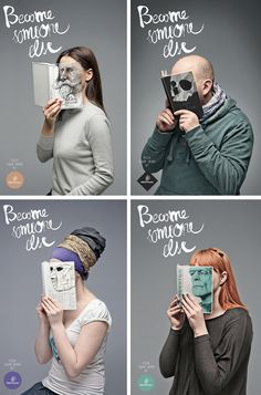 """Become Someone Else"" Library Campaign"
