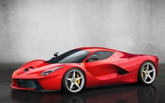 The LaFerrari without the black finish on the roof. Looks much better if you ask me [900x563] - Imgur