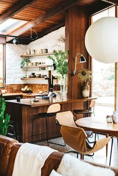 Home Interior Modern Kitchen Dining.Home Interior Modern Kitchen Dining. Home Interior, Interior Architecture, Kitchen Interior, Eclectic Kitchen, Interior Plants, Interior Modern, Home Decor Kitchen, Home Kitchens, Kitchen Dining