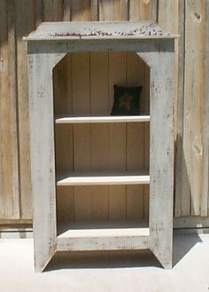 PMWN109 Primitive Old Country Cupboard $9.00