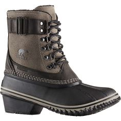 The Winter Fancy collection is equal parts sophistication and winter protection on our most slim and light PAC shell. This season it's offered in a sleek, oiled-suede lace up. Duck Boots Outfit, Cold Weather Boots, Waterproof Winter Boots, Cute Boots, Short Boots, Timberland Boots, Fancy, Shoes, Black