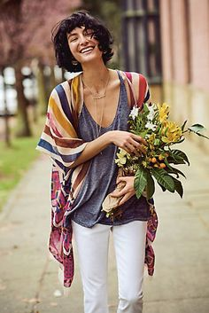 This light kimono is to die for!