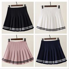 """Students pleated skirt SE9891      Coupon code """"cutekawaii"""" for 10% off"""