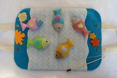 Arte e Mimos - Artesanato em feltro: Pescaria em feltro! Dia 01/07 no programa Mulher.com!