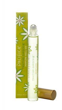 Pacifica Perfume Roll-On Tahitian Gardenia • natural fragrance 100% vegan purse travel